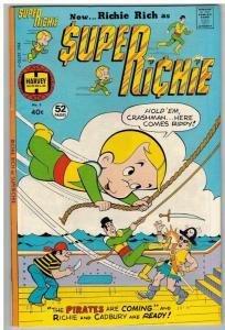 SUPER RICHIE (1975-1976) 5 VG-F Origin new costume COMICS BOOK