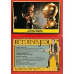 1983 Topps RETURN OF THE JEDI - SERIOUS SITUATION #93