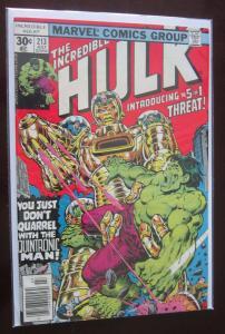 Incredible Hulk (1977 1st Series) #213, 7.0
