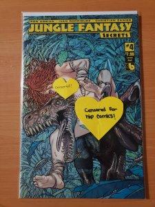 Jungle Fantasy Secrets #4 Lorelei Adult Variant Cover