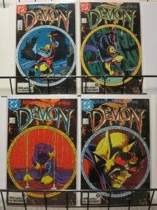 DEMON (1987 MINI) 1-4 Matt Wagner  mini complete