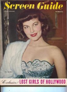 Screen Guide-Ava Gardner-Donald O'Connor-Ginger Rogers-Nov-1947
