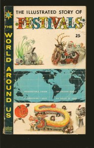 Gilberton The World Around Us Festivals #17 (1960) SALVAGED >PLEASE READ NOTE<