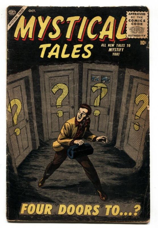 Mystical Tales #3 VG- 1956-Atlas-Bill Everett-terror-Reed Crandall-Mac Paluka