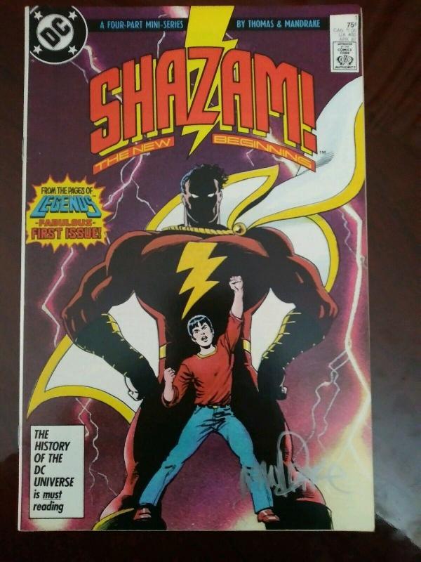 Shazam!  The New Beginning #1 - Captain Marvel - Mandrake art - Signed