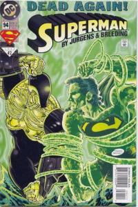 Superman (1987 series) #94, NM (Stock photo)