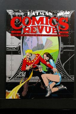 Comics Revue #46 1990 Flash Gordon Cover