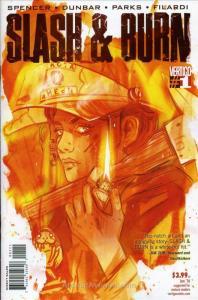 Slash & Burn #1 VF/NM; DC/Vertigo | save on shipping - details inside