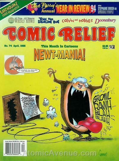 Comic Relief (magazine) #74 FN; Page One | save on shipping - details inside