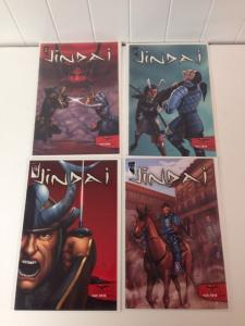 Jindai 1-4 Near Mint Lot Set Run