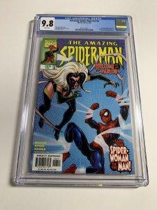 Amazing Spider-man V Vol Volume 2 # 6 Cgc 9.8 White Pages Marvel Legacy #447