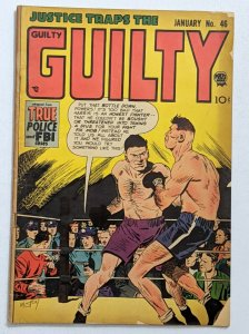 Justice Traps The Guilty #46 (Jan 1953, Prize) Good 2.0
