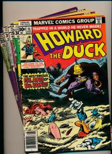MARVEL LOT of 6-HOWARD THE DUCK #15-16,18,20-22 1976/'77 GOOD/VERY GOOD (PJ88)