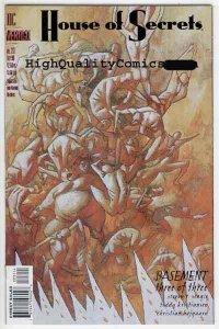 HOUSE of SECRETS #23, Horror,  Seagle,Vertigo, NM+, 1996