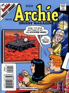 Archie Digest Magazine #210 VF/NM; Archie | save on shipping - details inside