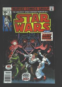 Star Wars (1977 series) #4, Fine+ (Actual scan)