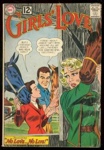 GIRLS' LOVE STORIES COMICS #89 1962-DC ROMANCE-EARLY 12 G