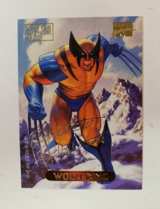 1994 Fleer Marvel Masterpieces Gold Foil Signature Series Wolverine #137