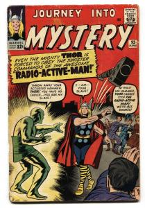 JOURNEY INTO MYSTERY-#93-Atomic bomb panel-comic book 1963-THOR
