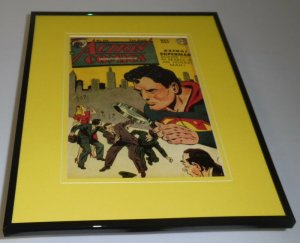 Action Comics #114 Framed 11x14 Repro Cover Display Superman
