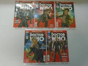 Doctor Who Four Doctors set #1-5 (2015) 8.0/VF