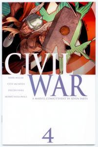 Civil War complete 1st Print set 1 2 3 4 5 6 7 movie Spider-man 9.6 - 9.8  NM/MT