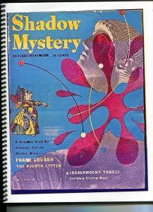 Shadow Mystery 10/1947High Adventure-pulp reprint-Jabberwocky Thrust-VF