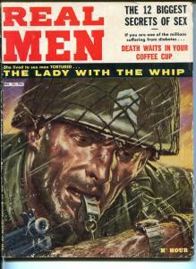 Real Man 12/1960-War-pulp fiction-cheesecake-spicy thrills-VG