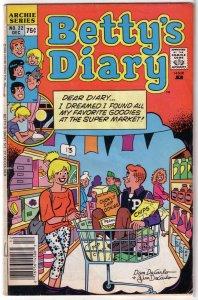 Betty's Diary   vol. 1   #22 GD