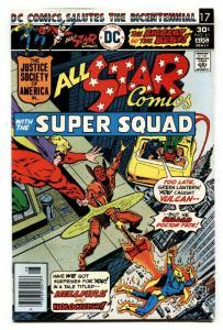 ALL-STAR COMICS #61 -FLASH-POWER GIRL comic book-1976 bronze age