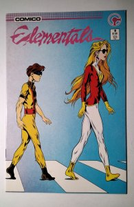 Elementals #9 (1986) Comico Comic Book J756