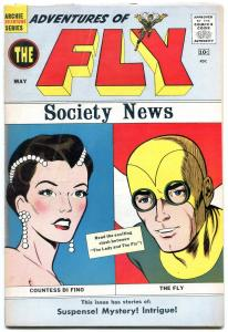 Adventures of The Fly #6 1960-Archie-Moon Men-10¢ cover price-VG/F