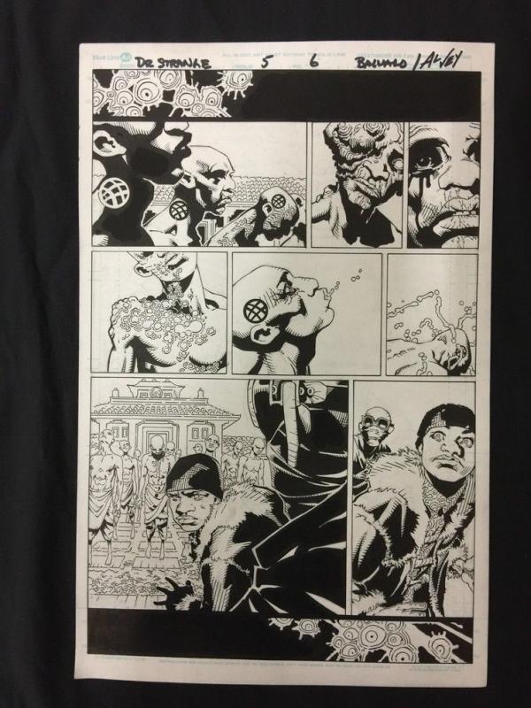 Doctor Strange #5 Page 6 Original Comic Art- Al Vey Chris Bachalo