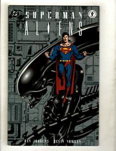 Superman Aliens Complete DC Dark Horse Ltd Series # 1 2 3 NM 1st Prints GK5