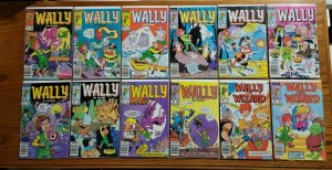 Wally The Wizard 1-12 Complete Newsstand Variant Set Run! ~ NEAR MINT NM ~ 1984