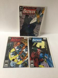 Batman 433 434 435 433-435 The Many Deaths Of Batman Nm Near Mint A25