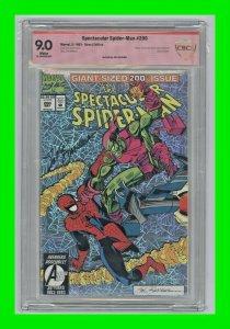 Spectacular Spider-Man #200 1993 Green Goblin dies Signed Sal Buscema CBCS 9.0