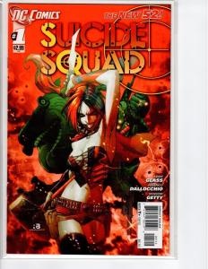 Suicide Squad #1 B - 4th Series - 2nd Print - 9.8? - 2011