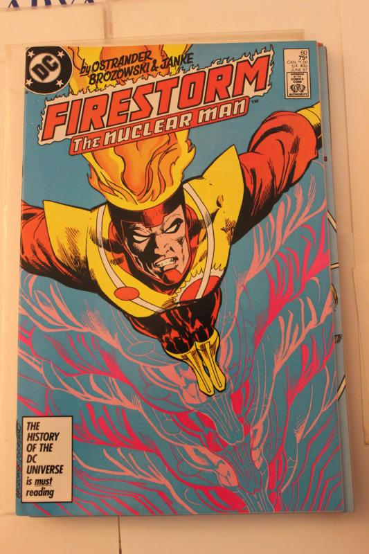 The Fury of Firestorm  60 9-0-vf-nm