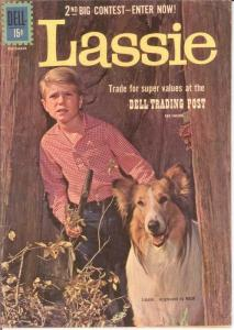 LASSIE (1950-1969) 55 G-VG Dec. 1961 COMICS BOOK