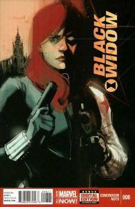 Black Widow (5th Series) #8 VF; Marvel   save on shipping - details inside