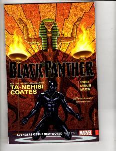 Black Panther Vol. # 4 Avengers New World Marvel Comics TPB Graphic Novel J298