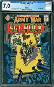 Our Army at War #195 (DC, 1968) CGC 7.0 Massachusetts Pedigree