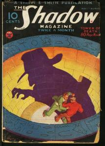 SHADOW 1934 MAY 1-STREET AND SMITH PULP-RARE FR