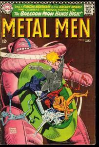 METAL MEN #24-BALLOON MAN-DC SILVER AGE VG