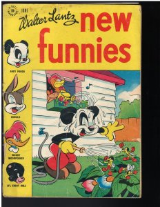 New Funnies #124 (Dell, 1947)