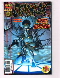 Deathlok #5 VF Marvel Comics Marvel Tech Comic Book Casey 2000 DE24