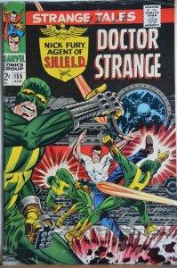 Strange Tales #155 (1967) Steranko Art!!