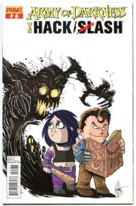 ARMY OF DARKNESS HACK SLASH #2, VF-, Subscription, 2013, Horror, more in store