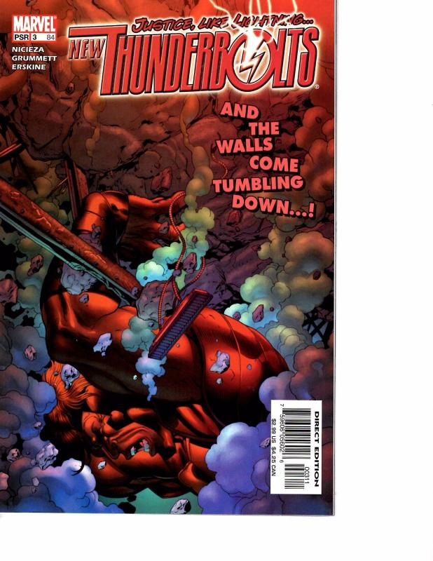 New Thunderbolts #10 FN 2005 Stock Image